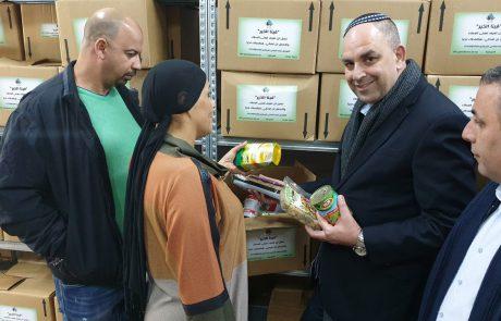 """""""הטוב בתוכנו"""": מפעל חסד למען מעוטי יכולת מהאוכלוסייה הערבית בלוד"""