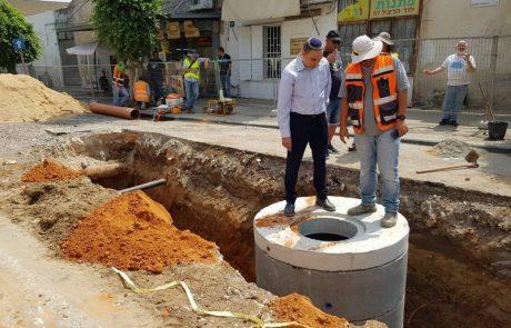 כאן בונים: עשרות פרוייקטים של בניה מבוצעים בעיר