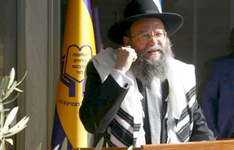 הרב ביטון הוכתר לכהן כרבה הראשי של העיר לוד