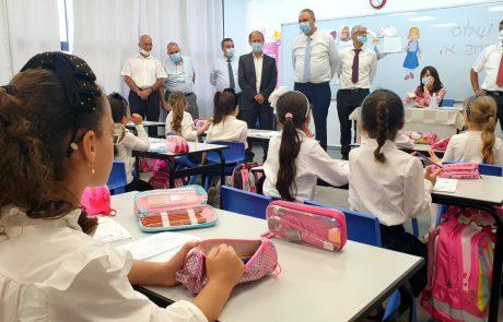 """היום הראשון עבר בהצלחה: כ-22 אלף תלמידים החלו את שנת הלימודים תשפ""""א בלוד"""