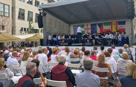 תזמורת הנוער של לוד חזרה מסיבוב הופעות בפראג