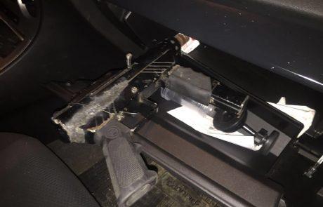 """משטרת לוד תפסה חשוד עם תת מקלע מאולתר  מסוג """"קרלו"""" ברחובות לוד"""