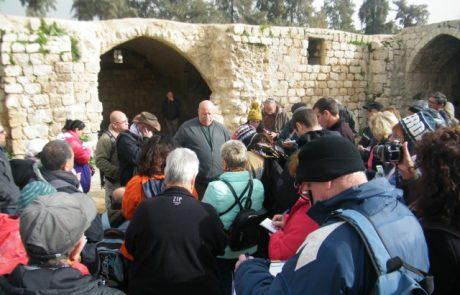 מורי הדרך בישראל לומדים תיירות בלוד