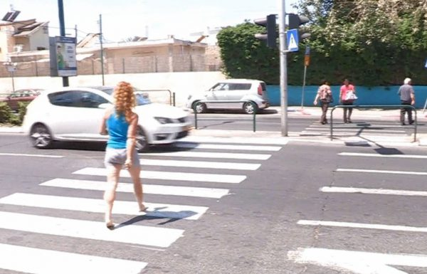 סכנה בדרכים: 340 הולכי רגל נפגעו בלוד בתאונות דרכים בעשור האחרון