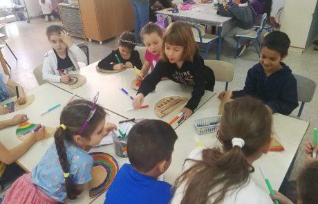 """4,103 ילדים מלוד משתתפים ב""""בתי הספר של החגים"""" – הכי הרבה במחוז המרכז"""