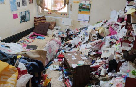 ניקיון ופינוי בית מזוהם עקב אגרנות מזון