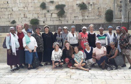 בפעם הראשונה בכותל המערבי: אתיופיה-לוד-ירושלים