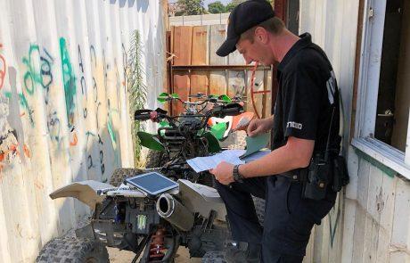 משטרת ישראל הובילה אתמול מבצע משולב רחב היקף כנגד מוסכים פיראטיים בלוד