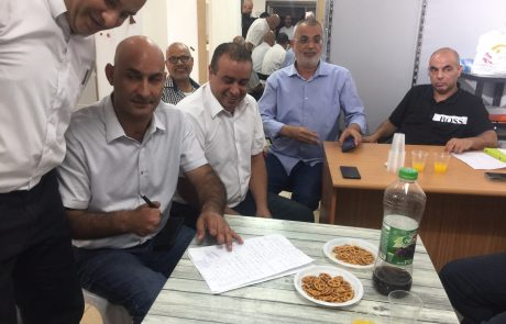 שמחה גדולה במגזר הערבי: כל המפלגות התאחדו למפלגה אחת