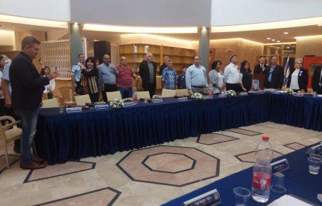 בנוכחות מאות אורחים: מועצת העיר החדשה התכנסה לישיבת פתיחה חגיגית