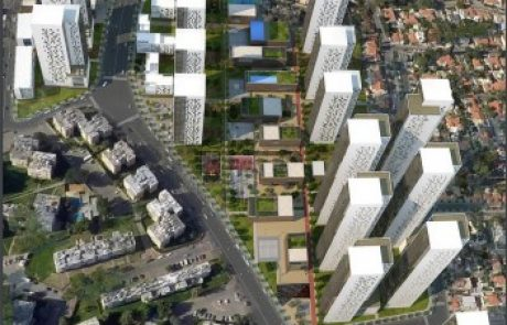 פרויקט ההתחדשות העירונית הגדול בישראל בעלות כוללת של למעלה מ-4 מיליארד שקלים יוצא לדרך