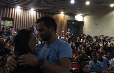 """האימא מוונצואלה הפתיעה את הבן בישראל: """"גאה שעלה כחייל בודד וכעת מכין צעירים לשירות בצה""""ל"""""""