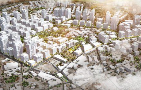 """ותמ""""ל: אושרה תוכנית הכוללת 543 יחידות דיור בעיר העתיקה בלוד"""