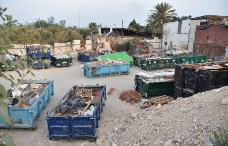 למען הסביבה: יחידת השיטור העירוני בפעילות כנגד הטמנה לא חוקית של פסולת בלוד