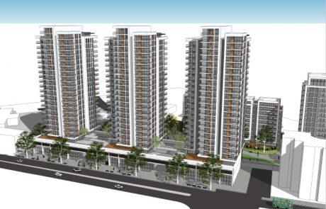 אושר להפקדה: 467 דירות במגדלים של עד 24 קומות יבנו סמוך לתחנת הרכבת