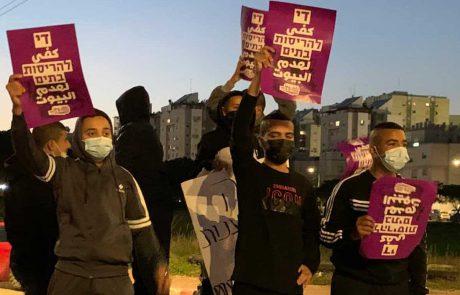 תושבי 'פרדס שניר' הפגינו נגד הריסת בתים: עשו תוכניות רק בשביל להרגיע את התושבים