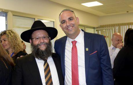 אחרי 6 שנים: נבחר רב העיר לוד – הרב שמעון מאיר ביטון