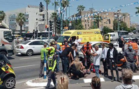 ראשוני: תאונה קשה בצומת קניון לוד-בית המשפט