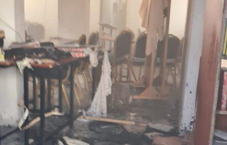 שוב שריפה בבית כנסת בלוד