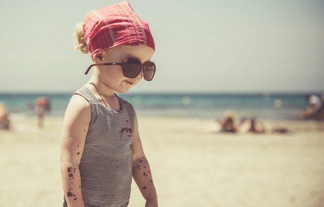איך נגן על עיניי הילדים העדינות מהשמש הקייצית?