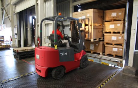 בטיחות בעבודה עם מלגזות – 5 כללי ברזל