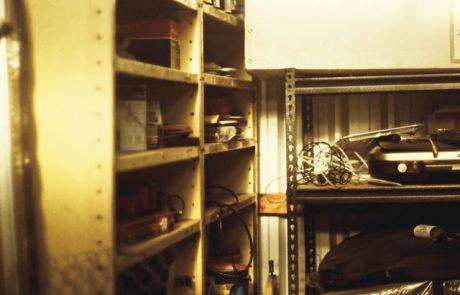 מידוף למחסן ביתי: לעשות סדר בבית